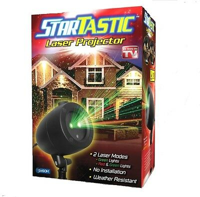 Startastic Holiday Light Show  The As Seen On Tv Laser Light Projector  New