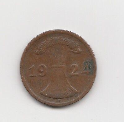 2 Rentenpfennig  Deutschland   1924    (2267)