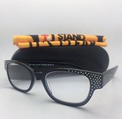 Readers EYE•BOBS Eyeglasses STUDY A BROAD 2506 00 +2.25 Black Frame+Rhinestones