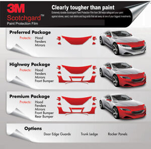 3M PAINT PROTECTION FILM CLEAR PPF from $ 110 (3M /STEK)
