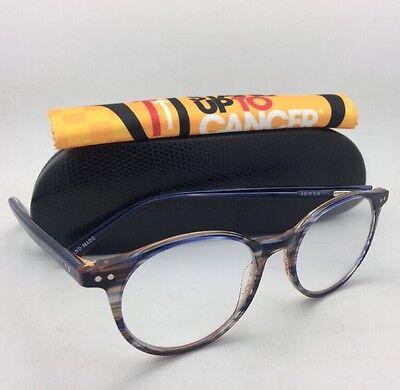 Readers EYE•BOBS Eyeglasses CASE CLOSED 2419 15 49-18 +2.75 Blue & Brown Striped