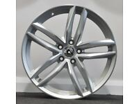 "18"" RS6C Alloys & Tyres. Suit Audi A3, VW Caddy, MK 5, 6, 7 Golf, Jetta, Passat, Seat Leon, Exeo"