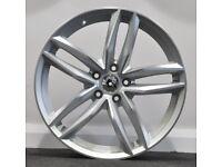 "18"" RS6-C Style Alloy Wheels. Suit Seat Leon, Audi A3. VW Passat, Jetta, Golf MK5, MK6, MK7,Caddy"