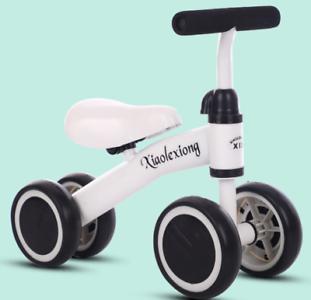 Baby Balance Bike Children Bicycle Sliding Bike 4Wheels Kid Trike Toddler Walker