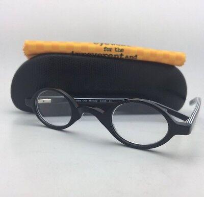Readers EYE•BOBS Eyeglasses OLD MONEY 2105 11 +2.00 Black & White Stripes Frames