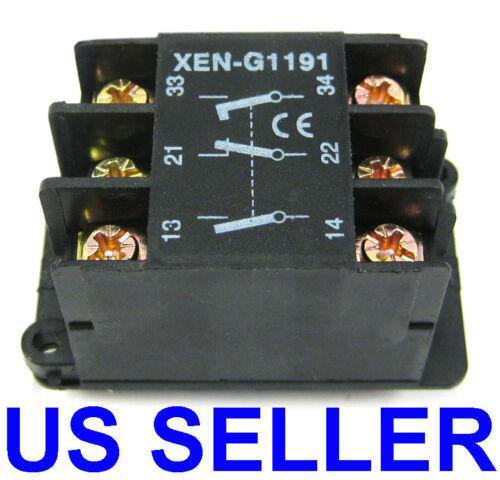 2 Speed Pendant Station Contact Block Hoist Crane Switch as XEN-G1191 XENG1191
