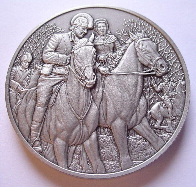 DAR Medal - EMILY GEIGER American Revolutionary War. Great Women.