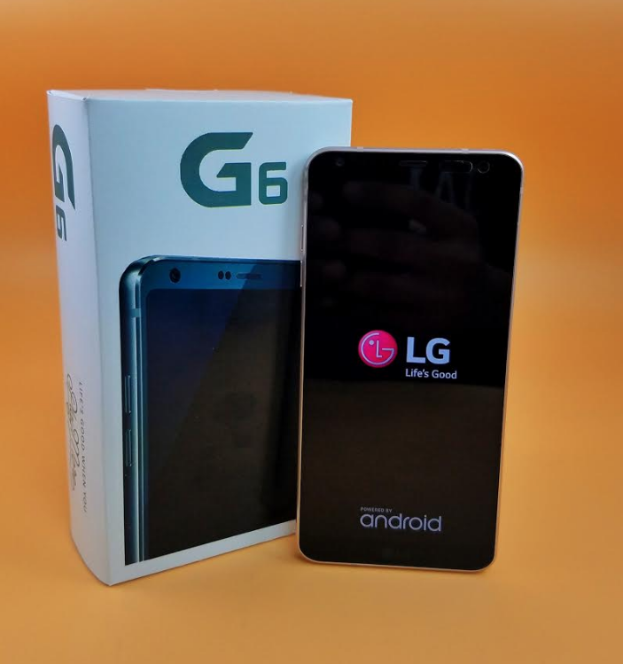 Android Phone - LG G6 AS993 32GB UNLOCKED Smartphone - Mystic White