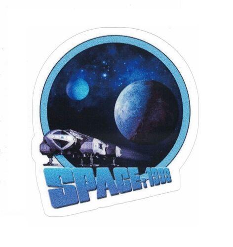 """SPACE 1999 STICKER ~ Eagle Lander Spacecraft Moon 3"""" Vinyl Decal Sticker"""