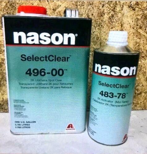 Nason 2K Urethane Spot Clear Kit 496-00