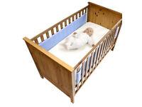 Safe dreams cot bed wrap