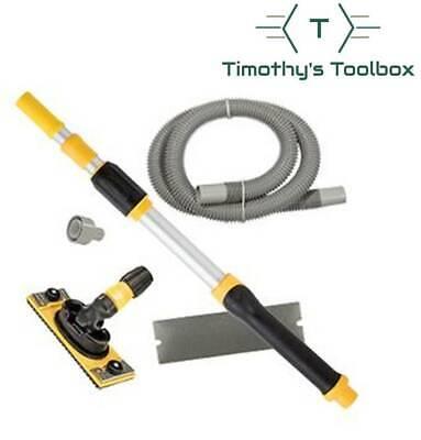 Hyde Dustless Drywall Vacuum Pole Sander Kit - With Vacuum Pole 09175