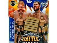 wwe wrestler triple h and Curtis axel brand new