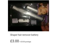 New in box shavers for eyebrows, facial hair, bikini line