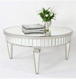F.W mirror table brand new
