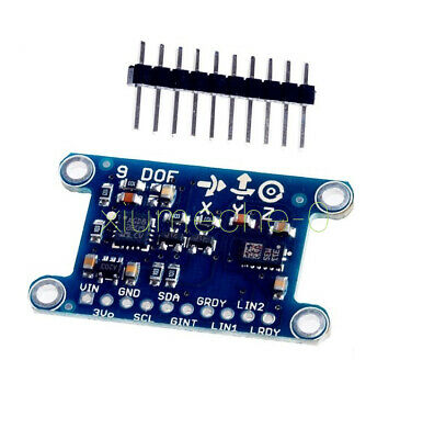 9 Axis Imu Lsm303d L3gd20 Module 9dof Compass Acceleration Gyroscope For Arduino