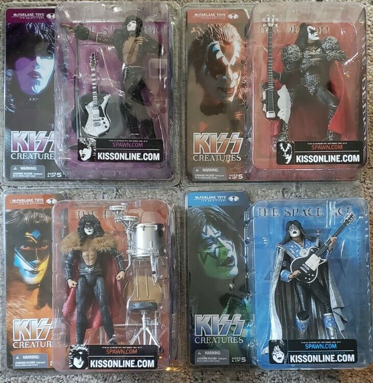 KISS Creatures Of The Night 2002 McFarlane Toys Action Figures NEW