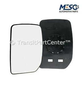 FRONT-DOOR-WING-MIRROR-GLASS-FORD-TRANSIT-MK6-2000-2006-LH-PASSENGER