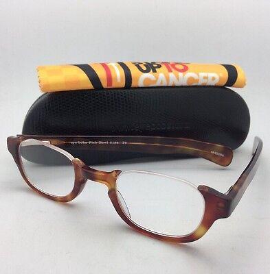 Readers EYE•BOBS Eyeglasses FISH BOWL 2134 T6 45-25 +3.00 Orange Tortoise Frame