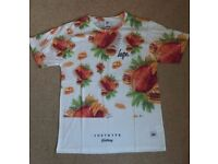 JUST HYPE MENS T-SHIRT SIZE LARGE BRANDNEW WITH TAGS RRP £25 Floral Food
