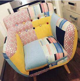funky armchair