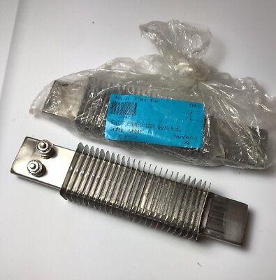 """Finned Strip Heater, 120V, 900W, 8.5"""" L Lot of 2 ()"""