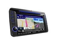 Car stereo with sat nav and DAB (kenwood dnx521DAB)