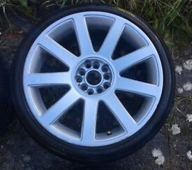 Audi Alloy Wheels & Tyres - A3/A4/A6/TT+