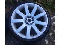 Audi Alloy Wheels & Tyres - A3/A4/A6/TT+