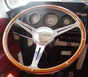 Steering wheel 16 wood rim for bay window vw early bay for 16 window vw van