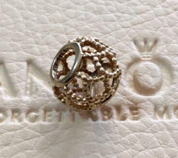 Pandora 14ct Gold Wonderlust Retired Charm
