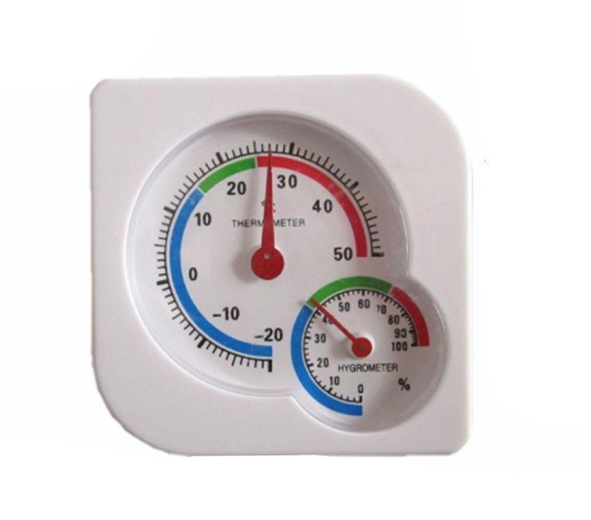 Indoor Outdoor Mini Wet Hygrometer Humidity Thermometer Temperature Meter Gauge[