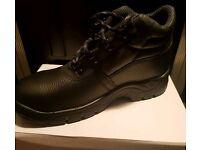 Men's Size 8 Steel Toe Work Boots