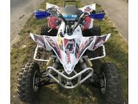 Yamaha yfz 450 off road race quad fully rebuilt with proof