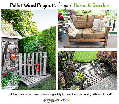 Pallet wood projects for home and garden.