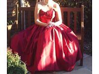 HAND MADE BRIDESMAID/PROM DRESS
