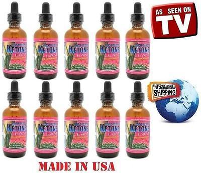 (10) Raspberry Ketone Lean Liquid Drops 2 oz. Fat Weight Loss. Better Than (10 Best Weight Loss Pills)