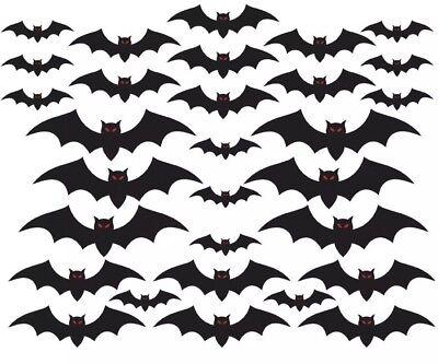Amscan, Halloween Cemetery Bat Cutouts Mega Value Pack, 7