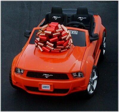 Car Bow (BIG METALLIC RIBBON GIFT BOW - LARGE GIFT CAR BIKE ATV PIANO BOWS - USA)