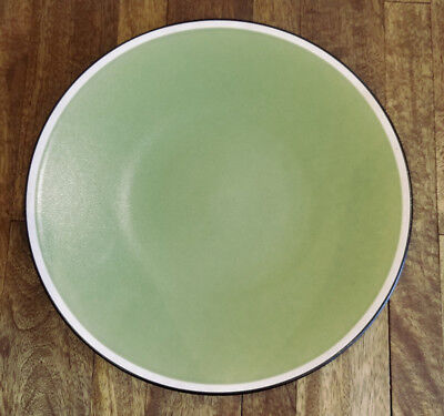 Set of 4 * Crate & Barrel LOGAN Green Japan -- Dinner Plates Plate Set - Green Plate Set