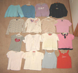Girls Tops, Shorts, Pants, Jackets, Swimsuits - sizes 6, 7, 8