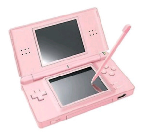 Pink Nintendo DS Lite & charger