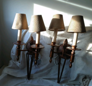 2 Indoor wall sconces