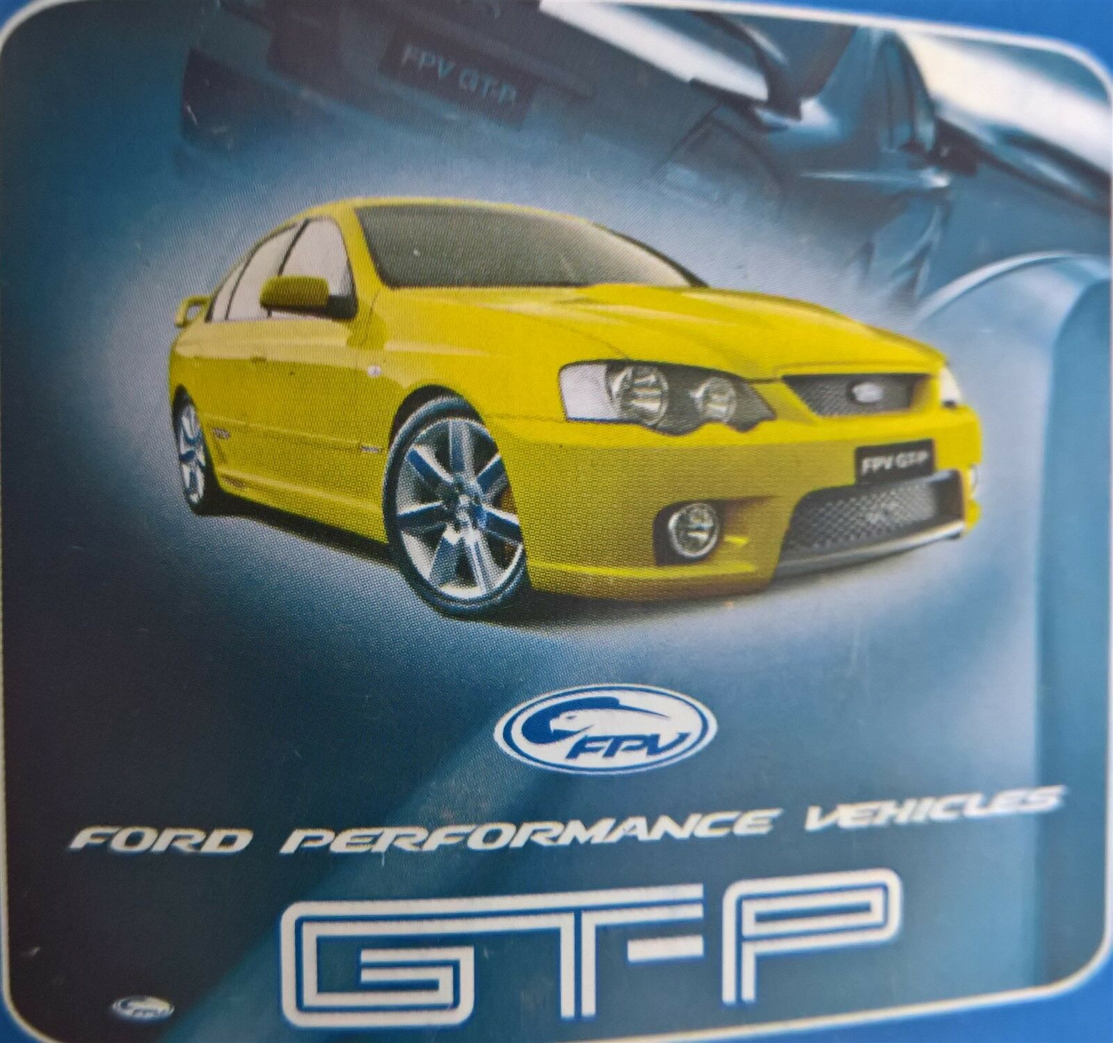 Ford Fpv Gt P Boss  Falcon Queen Doona Quilt Cover Set Ford No More