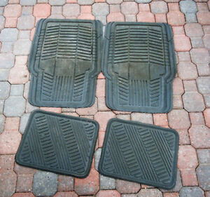 Rubber Car Mats (sets of 2 & 4)