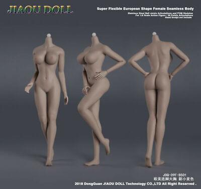 Skeleton Figure (JIAOU DOLL 1/6 European Big Bust Skeleton Suntan Female Figure Body Model)