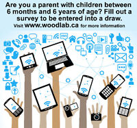 Parents of Children 6 Months to 6 Years Needed for Online Survey