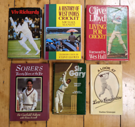 6 West Indies cricket books