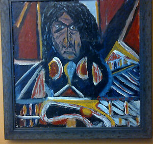 COLLECTOR'S PIECE - Original Shaman Painting on Wood