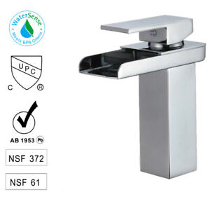Single Hole/Handle Bathroom Faucet Basin Mixer Sink Tap New